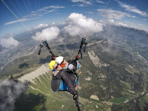 paragliding flight Die